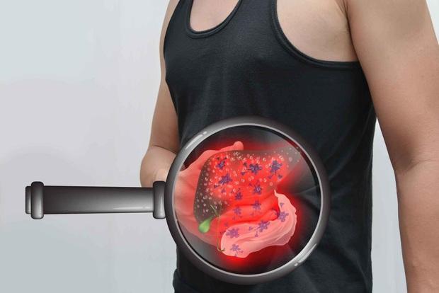 Nếu 3 vùng cơ thể ngày càng to ra, bạn nên cẩn thận vì nguy cơ mắc bệnh xơ gan là rất cao - Ảnh 1.