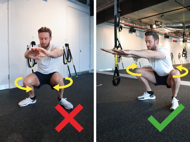 Tập squat rất tốt cho cơ thể, nhưng có 4 nhóm người cẩn thận nếu không muốn hại thân! - Ảnh 3.