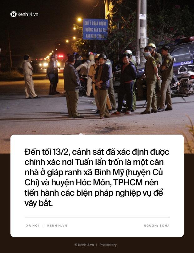 Toàn cảnh vụ Tuấn Khỉ bắn tử vong 5 người, bị công an vây bắt và tiêu diệt sau 16 ngày lẩn trốn - Ảnh 7.