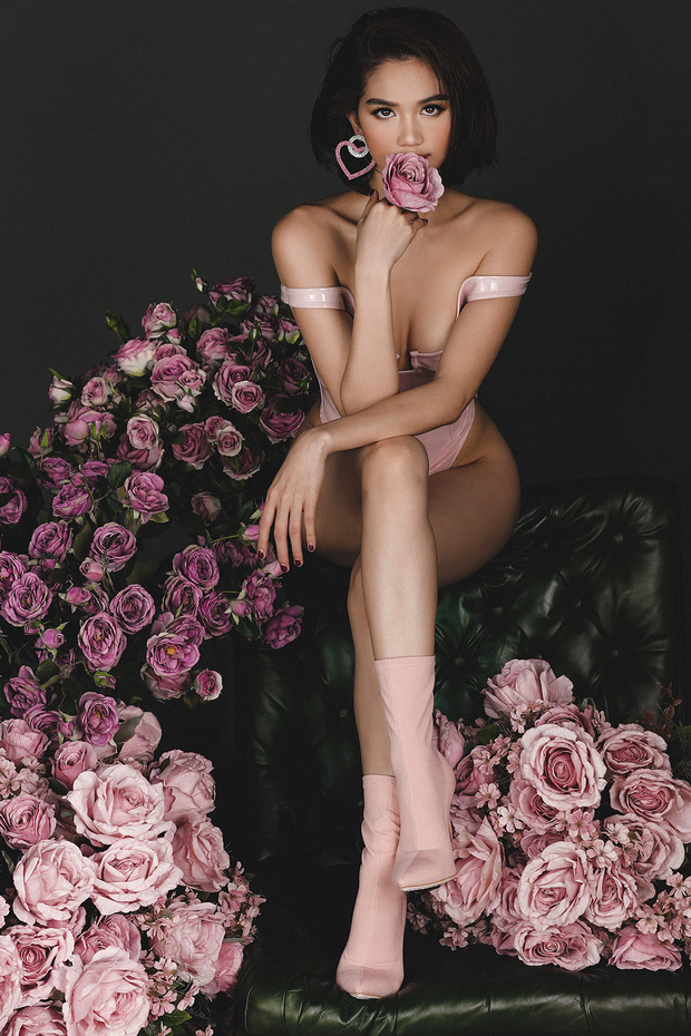 Ngọc Trinh tung trọn bộ ảnh mừng Valentine sexy đến ngộp thở giữa tin đồn có tình mới, còn xưng hô Cậu bé ngọt lịm - Ảnh 8.
