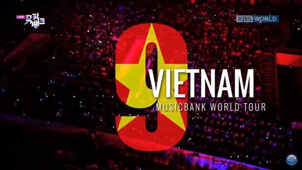 Music Bank World Tour có thể sẽ trở lại Việt Nam sau 5 năm, chỉ bởi bức ảnh thoáng qua mà fan Kpop Việt được dịp chưng hửng - Ảnh 3.