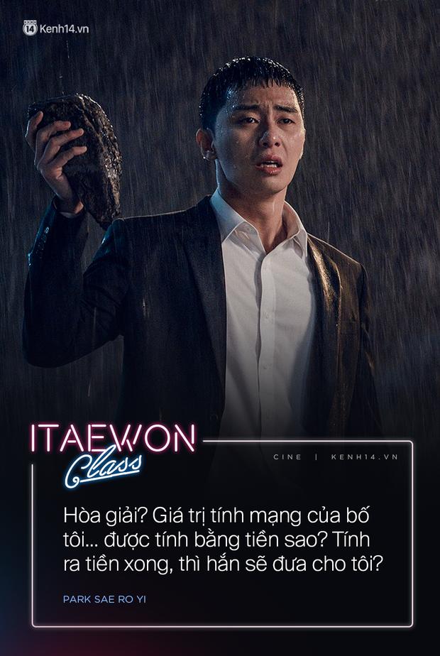 Ám ảnh với 10 câu thoại phản ánh xã hội bất công ở Tầng Lớp Itaewon: Mạng của bố tôi… được tính bằng tiền sao? - Ảnh 7.