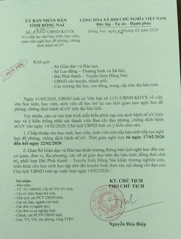 Cập Nhật: Loạt tỉnh thành cho học sinh nghỉ tiếp đến cuối tháng 2 để phòng dịch Covid-19 - Ảnh 1.