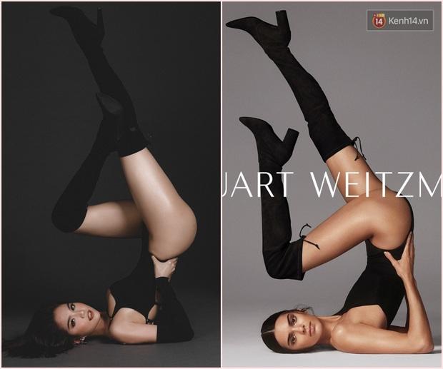 Ngọc Trinh dày công chụp ảnh nóng mừng Valentine, tiếc thay lại bị bóc mẽ là hàng nhái của Kendall Jenner - Ảnh 2.