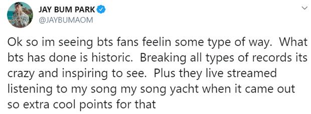 """So sánh mình ngang với BTS và đạo diễn """"Ký Sinh Trùng"""", Jay Park bị netizen """"ném đá"""" tơi bời vì tự cao tự đại - Ảnh 3."""