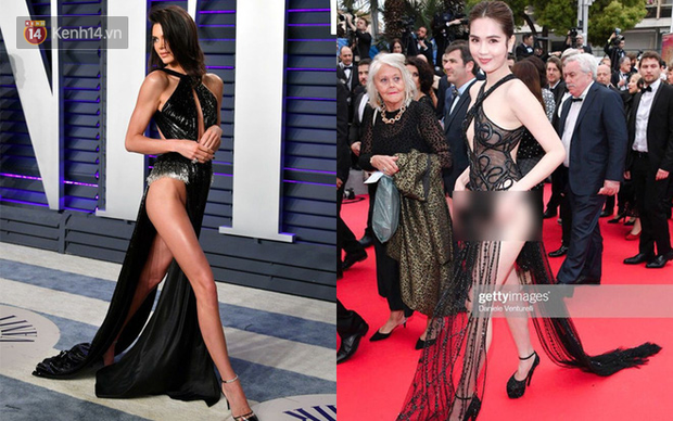 Ngọc Trinh hẳn là phải bị ám ảnh với Kendall Jenner dữ lắm nên mới học hỏi tới gần chục lần thế này - Ảnh 2.