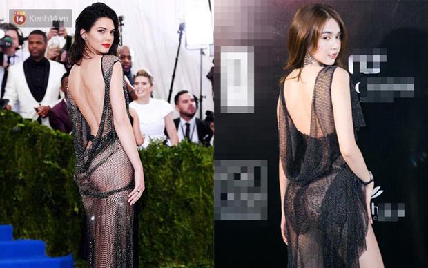 Ngọc Trinh hẳn là phải bị ám ảnh với Kendall Jenner dữ lắm nên mới học hỏi tới gần chục lần thế này - Ảnh 3.