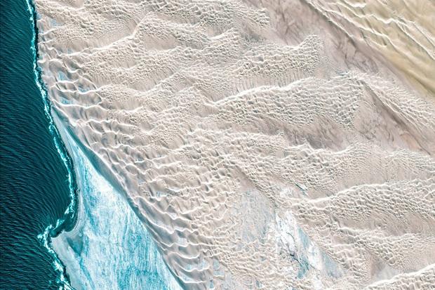 10 ảnh vệ tinh đẹp nao lòng từ Google Earth: Sự sắp đặt thần kỳ của tạo hóa xứng tầm tác phẩm triệu đô - Ảnh 8.