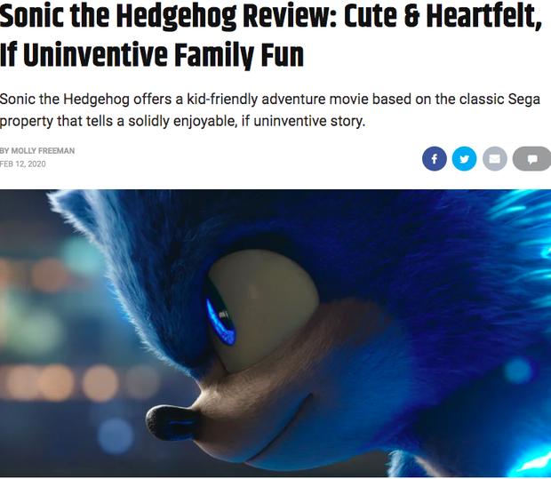 Báo chí thế giới nhận xét Sonic the Hedgehog: Phim vô hồn nhưng kẻ phản diện Jim Carrey thì đỉnh vô đối - Ảnh 3.