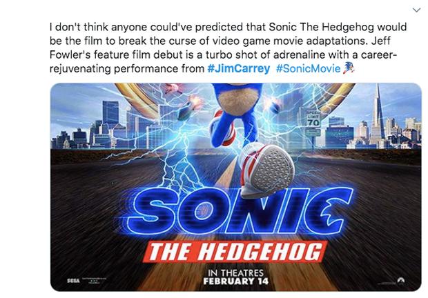 Báo chí thế giới nhận xét Sonic the Hedgehog: Phim vô hồn nhưng kẻ phản diện Jim Carrey thì đỉnh vô đối - Ảnh 7.