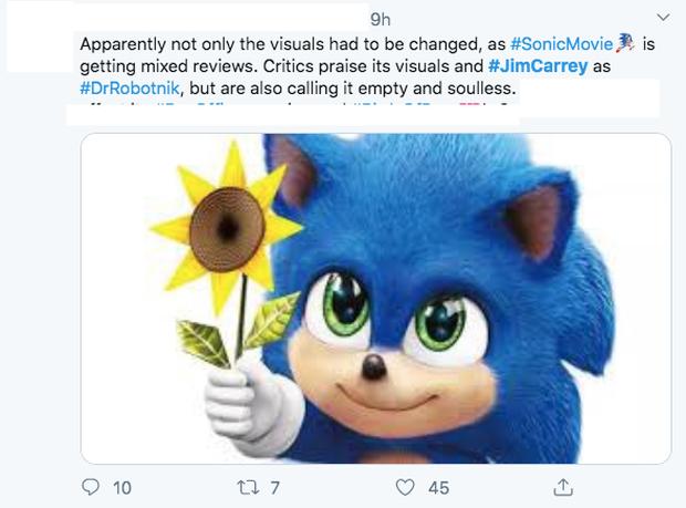 Báo chí thế giới nhận xét Sonic the Hedgehog: Phim vô hồn nhưng kẻ phản diện Jim Carrey thì đỉnh vô đối - Ảnh 6.