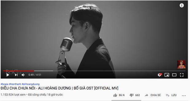 MV của B Ray và AMEE leo thẳng #7 trending sau nửa ngày, nhưng OST Bố già view nhỉnh hơn hẳn lại mất hút trên top trending dù ra cùng thời điểm? - Ảnh 5.