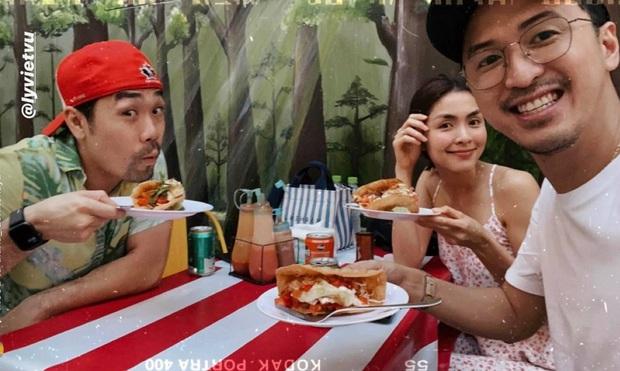 Vợ chồng Hà Tăng ăn tối riêng với bạn trai Kathy Uyên, tiếp tục chứng minh mối quan hệ thân thiết của hội bạn triệu đô - Ảnh 1.