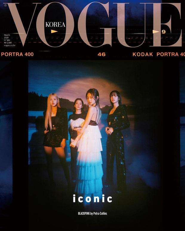Vogue tung bộ ảnh mới sang chảnh đến bức thở của BLACKPINK, nhưng tóc Lisa bị sao thế này? - Ảnh 1.