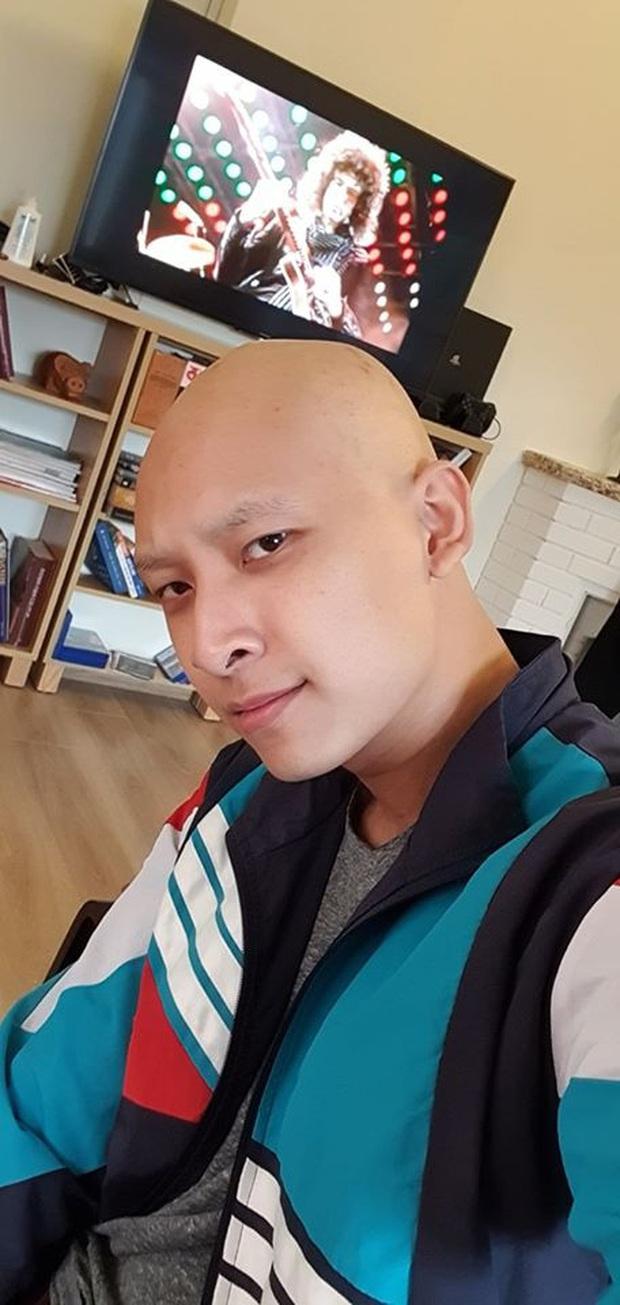 Mỹ nam Vietnams Next Top Model mắc bệnh nan y phải cạo sạch tóc vẫn giữ vững tinh thần lạc quan - Ảnh 8.