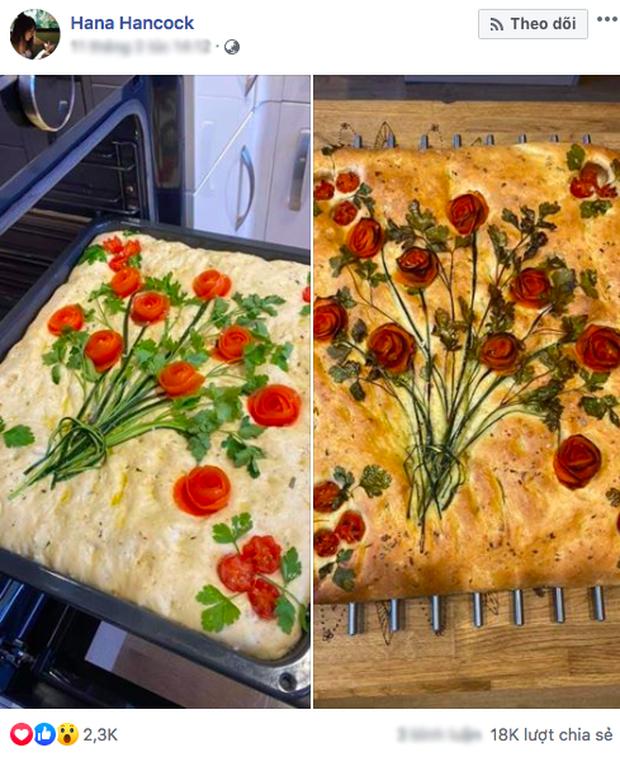 """Ý tưởng biến mẻ bánh nướng thành tranh nghệ thuật thu hút hơn 18k lượt share, ai ngờ rau củ cháy lại """"ảo"""" thế này! - Ảnh 1."""