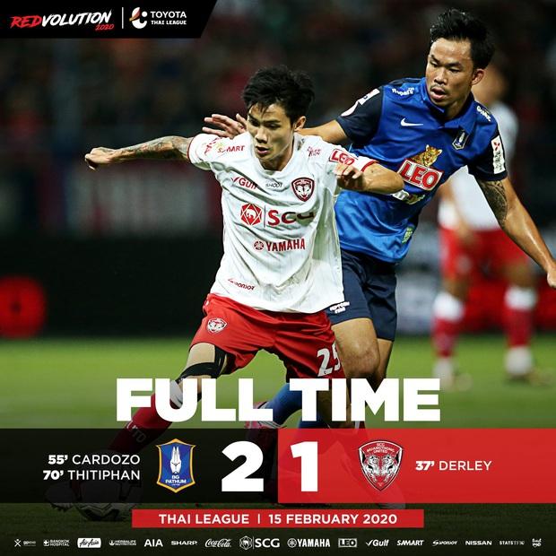 Văn Lâm lọt khoảnh khắc xuất sắc dù Muangthong thua trận mở màn Thai League 1 năm 2020 - Ảnh 2.