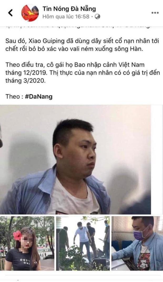Tung tin sai vụ thi thể trong vali, chủ facebook Tin Nóng Đà Nẵng bị xử lý - Ảnh 1.