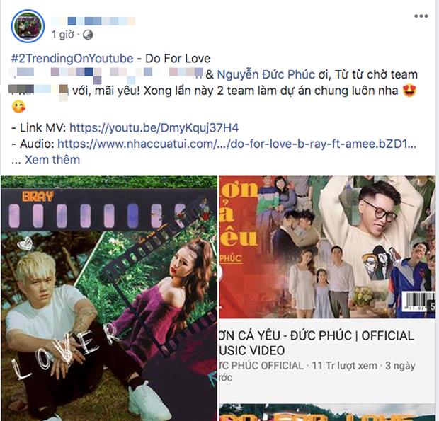 MV kết hợp AMEE lại mang về quả ngọt top #2 trending, B Ray chơi lớn tung album chưa đủ còn thả thính màn kết hợp với Đức Phúc? - Ảnh 6.