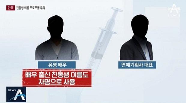 NÓNG: Nam diễn viên Hàn nổi tiếng bị tố dùng chất cấm Propofol tại cơ sở thẩm mỹ, trốn tội nhờ em họ CEO công ty giải trí - Ảnh 1.