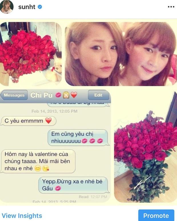 Hot girl SunH đi một vòng rồi cũng về với... Chi Pu, đúng là chỉ con gái mới đem lại hạnh phúc cho nhau nhé! - Ảnh 2.