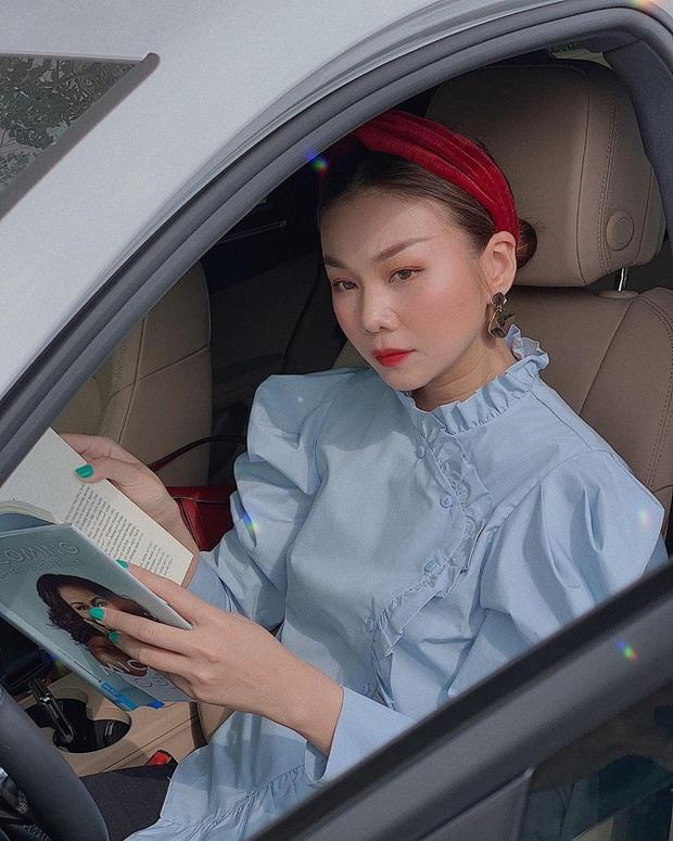 Ngắm Thanh Hằng diện bờm tóc quá sang - xịn - mịn, chị em sẽ muốn đu theo mốt phụ kiện này ngay lập tức - Ảnh 3.