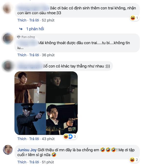 Bố của Hyun Bin hot nhất Crash Landing on You tập cuối vì quá ngầu, chị em nô nức hỏi nhau: Bác có định đẻ thêm con trai không ạ? - Ảnh 5.