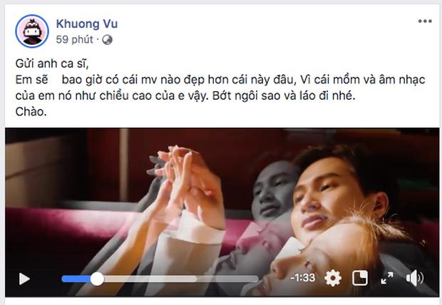 Nguyễn Trọng Tài Hongkong 1 bất ngờ bị đạo diễn MV bức xúc: Âm nhạc của em nó như chiều cao của em vậy, bớt ngôi sao nhé - Ảnh 1.
