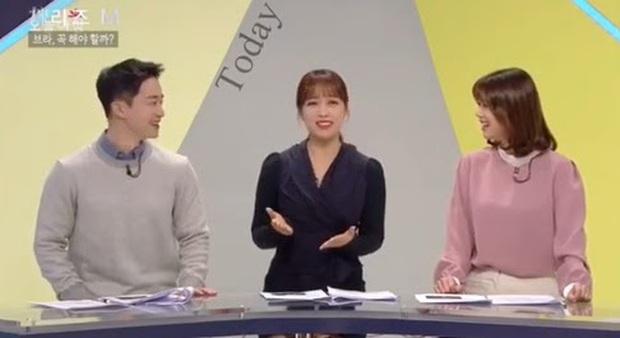 Chưa từng có tiền lệ: Nữ phát thanh viên đài MBC thả rông lên sóng truyền hình trực tiếp, tự tin tiết lộ lí do đằng sau - Ảnh 3.