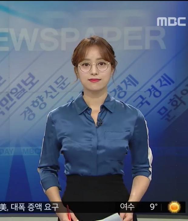 Chưa từng có tiền lệ: Nữ phát thanh viên đài MBC thả rông lên sóng truyền hình trực tiếp, tự tin tiết lộ lí do đằng sau - Ảnh 7.
