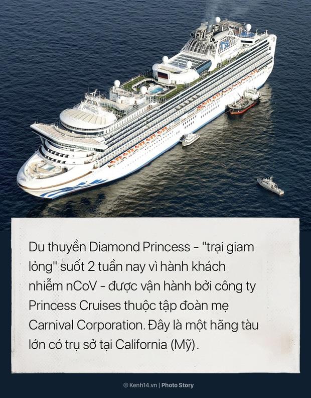Hai tuần bị cách ly của Diamond Princess: Từ du thuyền xa hoa trở thành ổ dịch virus corona lớn thứ nhì thế giới - Ảnh 1.