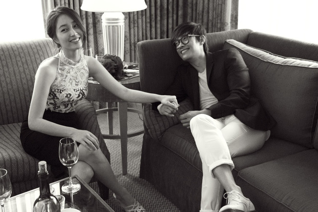 Sao đã kết hôn đứng cạnh đồng nghiệp khác giới: Lee Byung Hun tránh Suzy như tránh tà, Dương Mịch thả thính dàn trai đẹp - Ảnh 4.