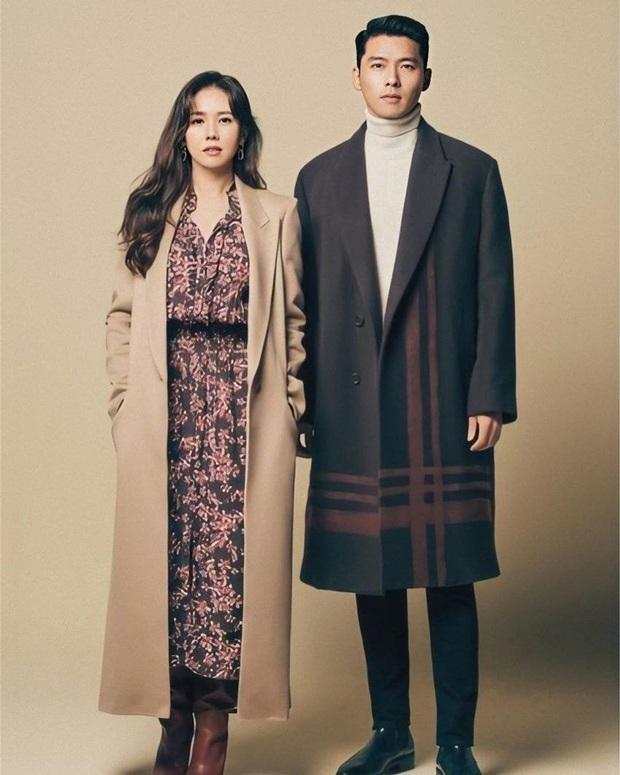 Ghép thử hình Hyun Bin và Son Ye Jin, ai ngờ fan phát hiện cặp đôi có tướng phu thê: Ảnh hồi bé còn gây choáng hơn! - Ảnh 3.