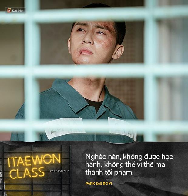 10 câu nói giúp bạn đổi đời từ Tầng Lớp Itaewon: Nghèo nàn, không được học hành, cũng không thể vì thế mà thành tội phạm - Ảnh 8.