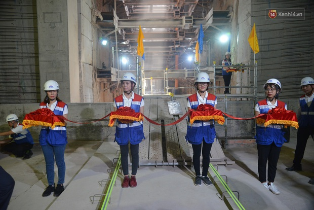 Metro Bến Thành - Suối Tiên chính thức được thông tuyến, chuyển sang giai đoạn lắp ráp - Ảnh 2.