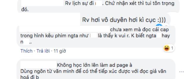 Fan Hương Giang khẩu chiến tưng bừng khi Sắc Đẹp Dối Trá bị chê bằng từ ngữ thô tục - Ảnh 3.