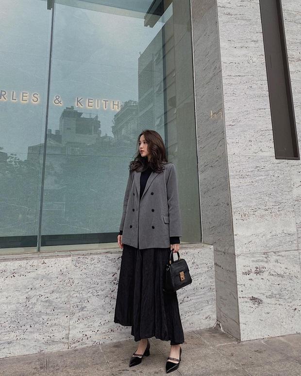 Street style hội sành mặc Instagram: Quần ống rộng càn quét mọi mặt trận, ai diện chân cũng dài đến nách - Ảnh 11.