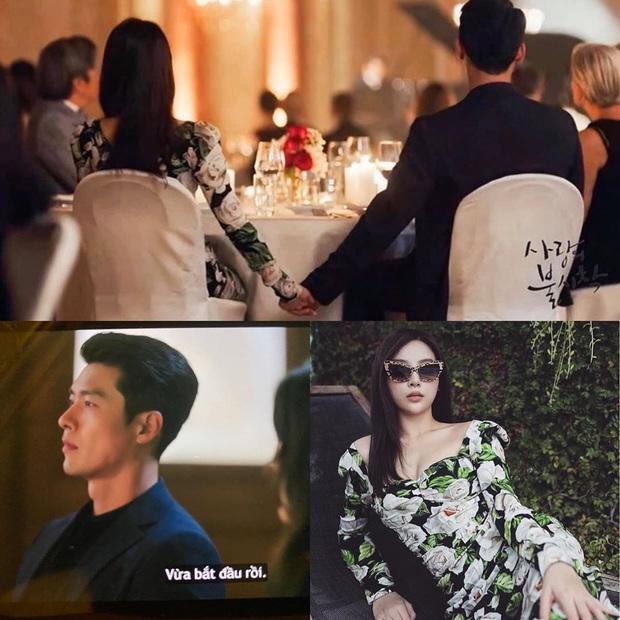 Thừa cơ hội đụng váy 58 triệu với Se Ri, tài phiệt Huyền Baby xung phong thế chỗ nắm tay Hyun Bin: Đã giàu lại còn vui tính - Ảnh 1.
