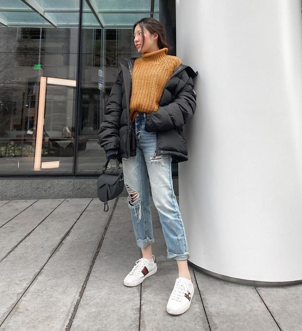 Street style hội sành mặc Instagram: Quần ống rộng càn quét mọi mặt trận, ai diện chân cũng dài đến nách - Ảnh 12.