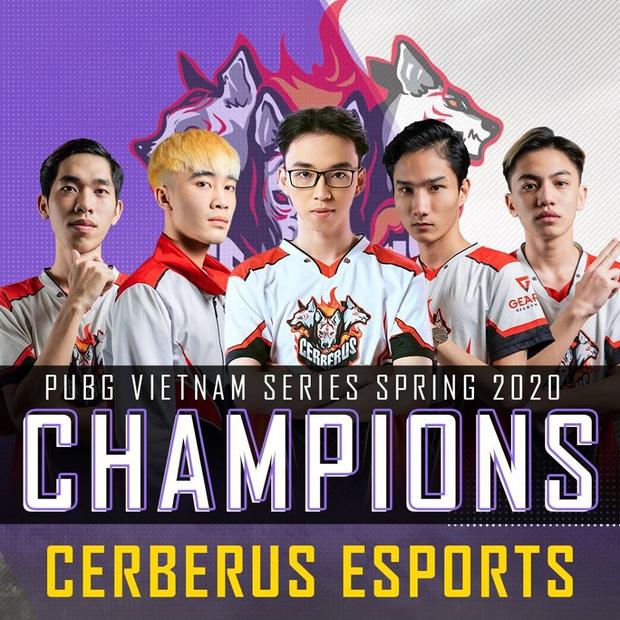 Cerberus Esports trở thành tân vương của PUBG Việt, giành suất trực tiếp đến giải PUBG trị giá 12 tỷ tại Berlin! - Ảnh 1.
