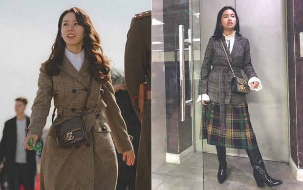 Đời không như mơ: Thử copy style của Son Ye Jin trong Crash Landing On You, nàng công sở nhận cái kết thắm đượm - Ảnh 3.