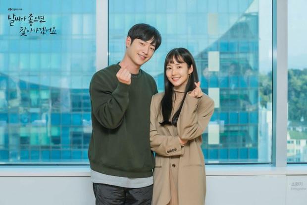 Trai quê Seo Kang Joon mượn rượu tỏ tình với gái phố Park Min Young ở teaser Trời Đẹp Em Sẽ Đến - Ảnh 4.