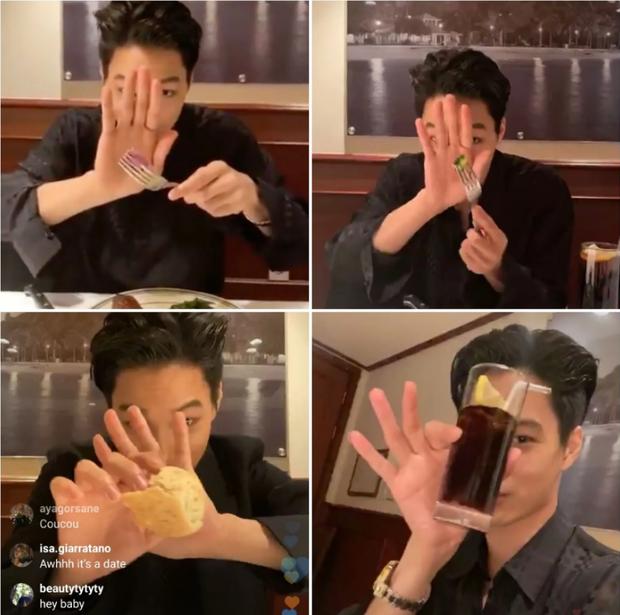 Tập tành quay mukbang chiều fan hâm mộ, Kai (EXO) khiến dân tình thi nhau thả tim ầm ầm bởi những khoảnh khắc cực dễ thương - Ảnh 4.