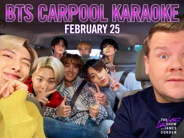 BTS trở thành nhóm nhạc KPop đầu tiên tham gia show karaoke đình đám toàn nước Mỹ - Ảnh 1.