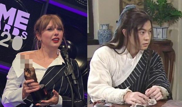 Góc cười ná thở: Taylor Swift bất ngờ xuyên không và đổi tên thành Bạch Triển Đường, tất cả là vì 1 chiếc áo? - Ảnh 1.