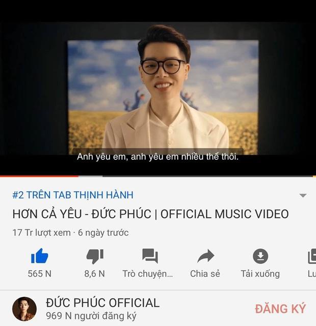 Bị K-ICM vượt mặt, Đức Phúc hô hào fan cày MV mới để trở lại top 1 trending nhưng lại lộ bằng chứng... tự luyến siêu đáng yêu - Ảnh 1.