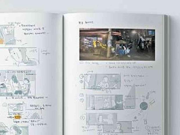 Tiết lộ sổ tay vẽ phác thảo Parasite của đạo diễn Bong Joon Ho, ai cũng khen nức nở vì độ tỉ mẩn đến từng chi tiết - Ảnh 2.