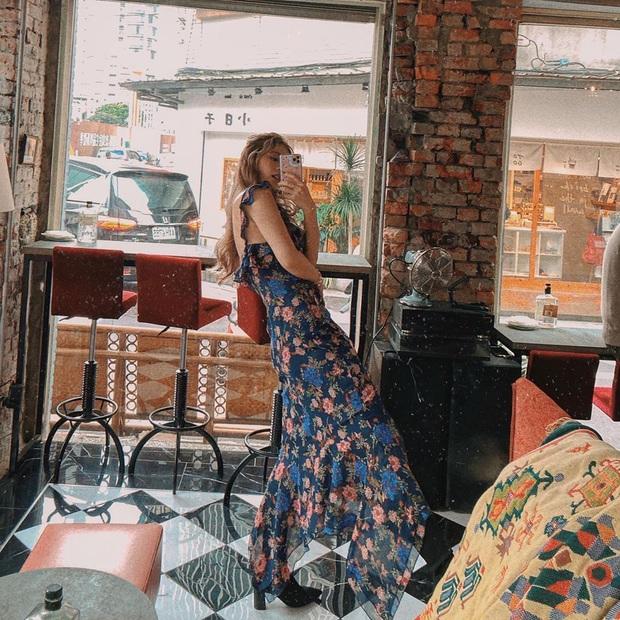 2 chị đẹp Crash Landing On You đều mê váy hoa dáng dài, nàng công sở học ngay vài cách mix để diện khi trời ấm - Ảnh 12.