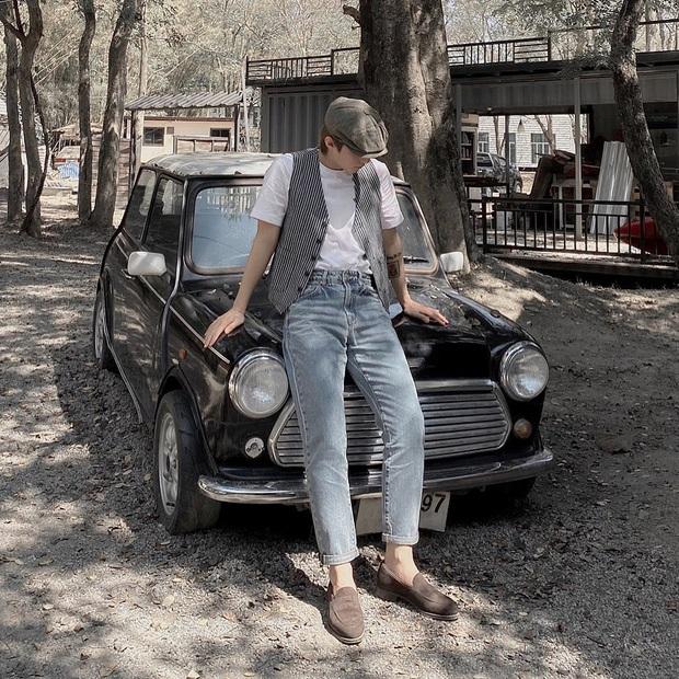 Street style sao Việt: Trấn Thành tự thấy mình chất như một cây vàng nhưng mix cao tay nhất phải là chị em Yến Trang - Yến Nhi - Ảnh 5.
