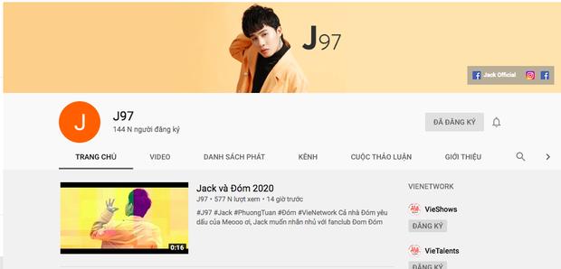 Comeback cùng thời điểm, K-ICM đạt #1 trending nhanh như chớp nhưng mất 20k lượt subscribe còn Jack rinh ngay nút bạc Youtube chỉ với... 1 video - Ảnh 3.